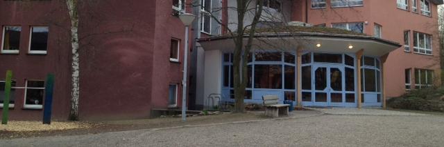 Aussenansicht Forum Westbau der Rudolf-Steiner-Schule Dortmund
