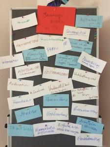 Bewertungskriterien von Teilnehmern an Dozenten